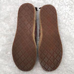 UGG Shoes - UGG Indah Marrakech Canvas Espadrille Ballet Flats